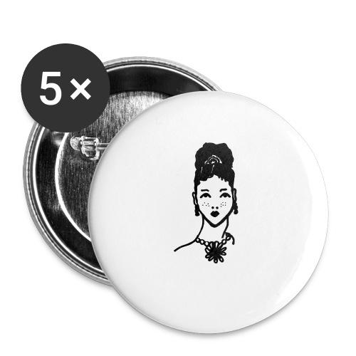 Zahara2 - Paquete de 5 chapas pequeñas (25 mm)