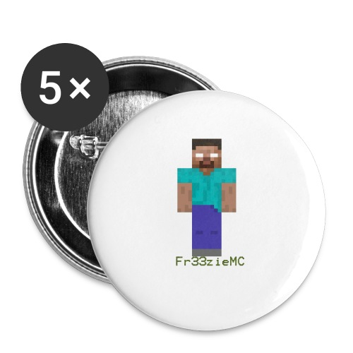 Designe boutique 1 - Lot de 5 petits badges (25 mm)