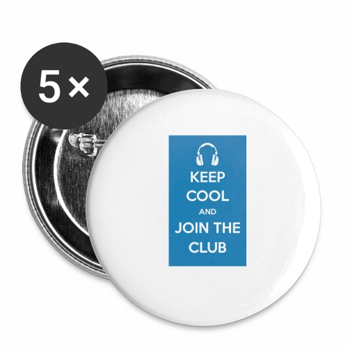 Join the club - Buttons small 1''/25 mm (5-pack)