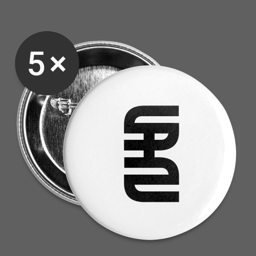 STAHLSCHLAG Logo - Buttons small 1''/25 mm (5-pack)