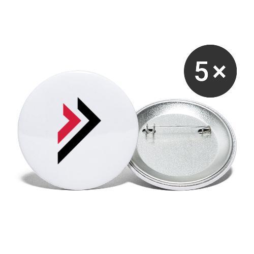 Logo de Sylmora - Lot de 5 petits badges (25 mm)