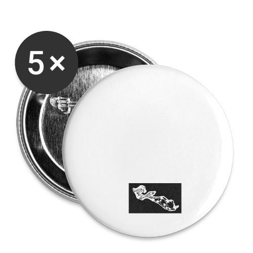 iledere logo1 png - Lot de 5 petits badges (25 mm)