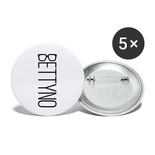 BettyNo - Confezione da 5 spille piccole (25 mm)