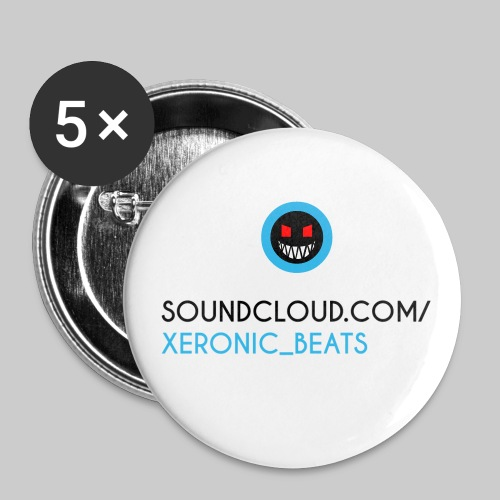 XERONIC LOGO - Buttons small 1''/25 mm (5-pack)