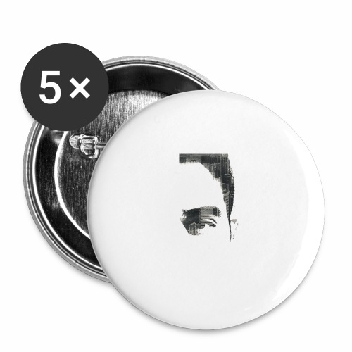 Exposed - Buttons small 1''/25 mm (5-pack)