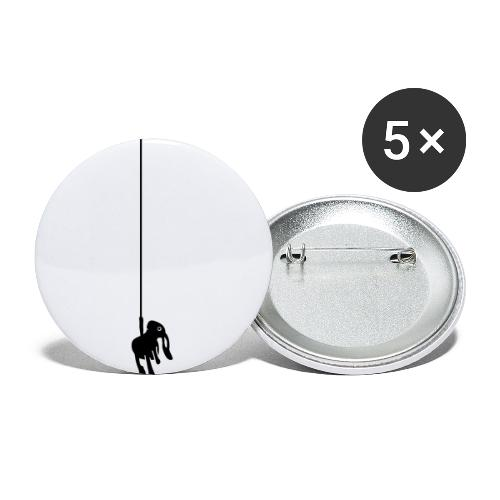 Cliffy - Buttons klein 25 mm (5er Pack)