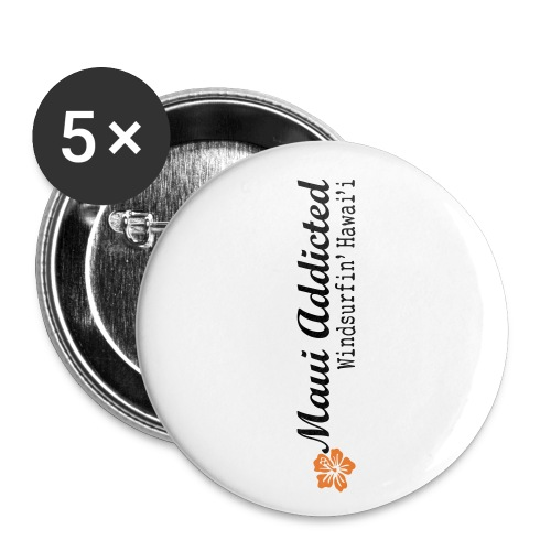 MAddLogoVert ai - Buttons small 1''/25 mm (5-pack)