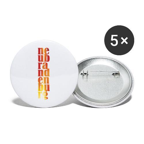 Neubrandenburg - Buttons klein 25 mm (5er Pack)