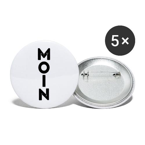Moin - Buttons klein 25 mm (5er Pack)