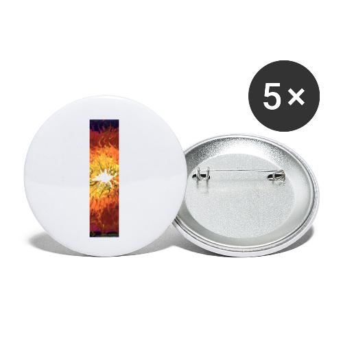 iv012tordergabe03 - Buttons klein 25 mm (5er Pack)