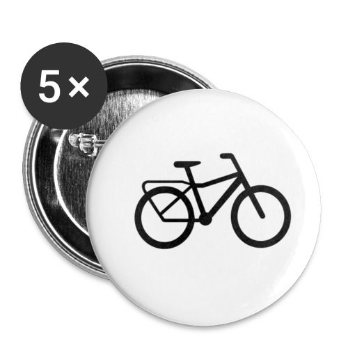 BCL Shirt Back White - Buttons small 1''/25 mm (5-pack)