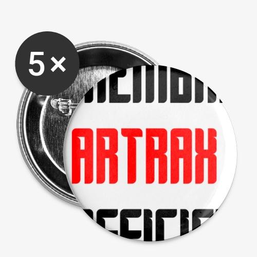 membre officiel - Lot de 5 petits badges (25 mm)