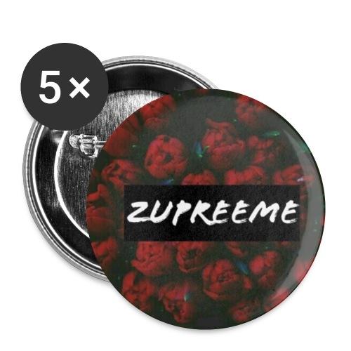 zup - Små knappar 25 mm (5-pack)