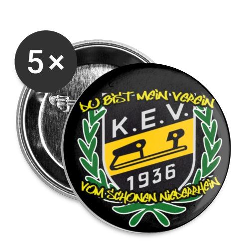 button niederrhein - Buttons klein 25 mm (5er Pack)