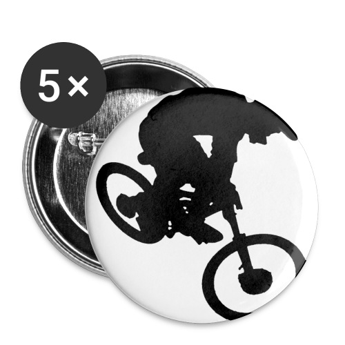 rider whip - Buttons small 1''/25 mm (5-pack)
