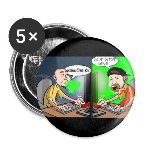 echt jetzt jens 2 jpg - Buttons klein 25 mm (5er Pack)
