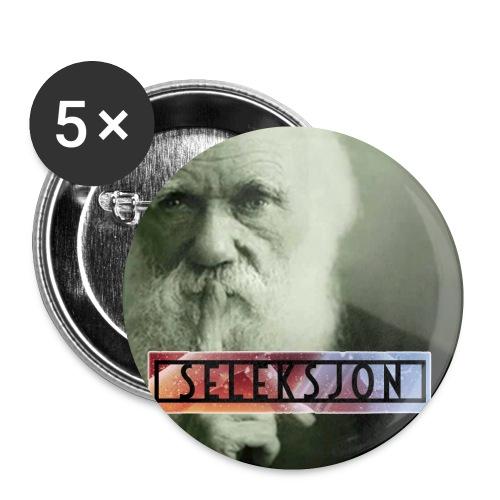 logo jpg - Liten pin 25 mm (5-er pakke)