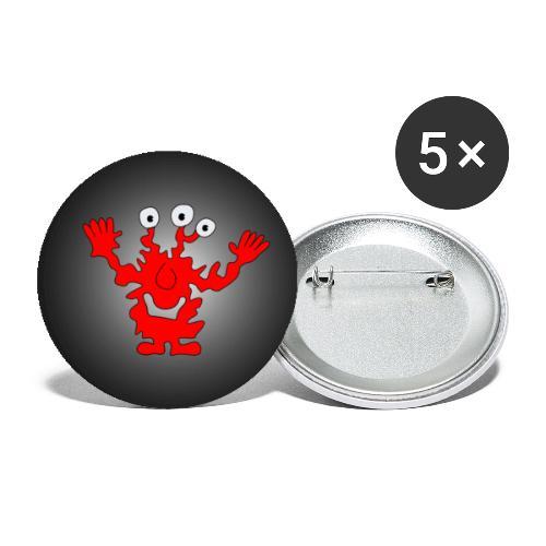button1 - Buttons klein 25 mm (5er Pack)