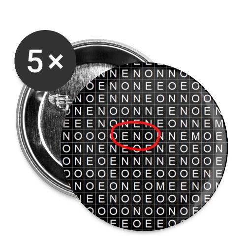Elämäsi ristikko - Rintamerkit pienet 25 mm (5kpl pakkauksessa)