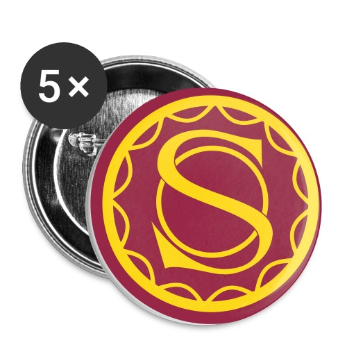 Seal of Sendell - Buttons small 1''/25 mm (5-pack)