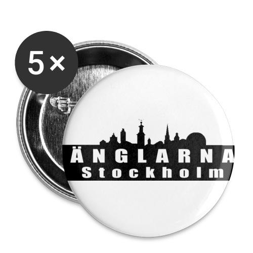 Änglarna Stockholm - Små knappar 25 mm (5-pack)