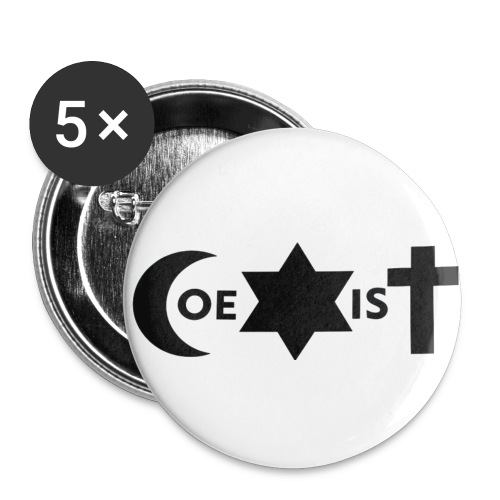 coexist - Buttons small 1''/25 mm (5-pack)