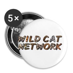 WildCatNetwork 1 - Buttons klein 25 mm