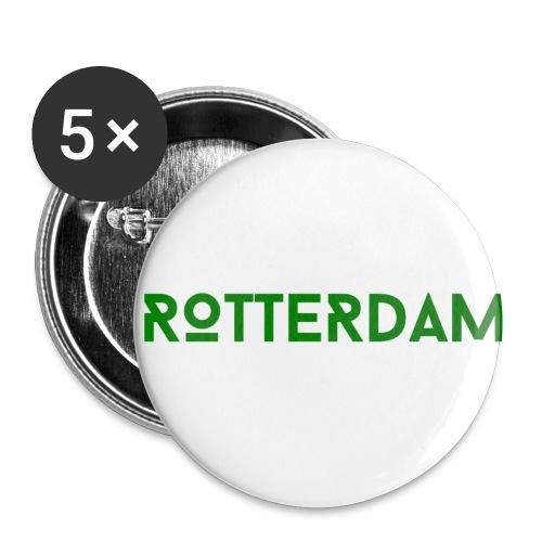 Rotterdam (Groen) - Buttons klein 25 mm (5-pack)