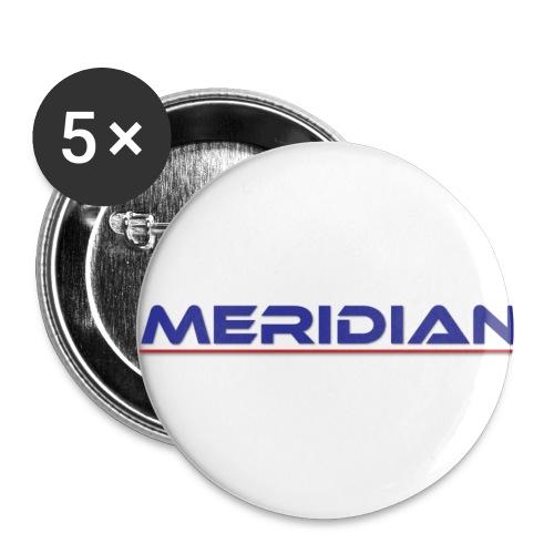 Meridian - Confezione da 5 spille piccole (25 mm)