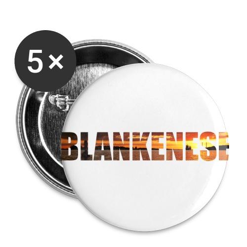 Blankenese Hamburg - Buttons klein 25 mm (5er Pack)
