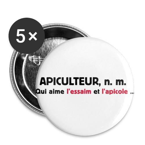 essaim - Lot de 5 petits badges (25 mm)