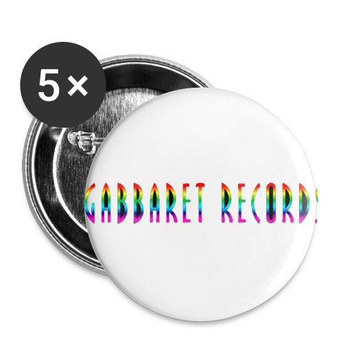 gabbaretr png - Buttons klein 25 mm (5-pack)
