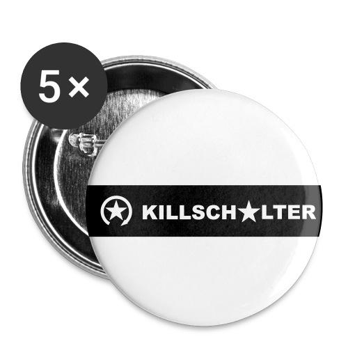 KILLSCHALTER Logo 0KS04 - Buttons small 1''/25 mm (5-pack)