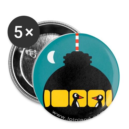 mug0002 - Buttons klein 25 mm (5er Pack)