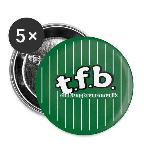 button tfb jpg - Buttons klein 25 mm (5er Pack)