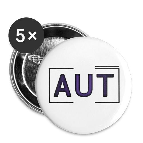 Logo trans png - Buttons klein 25 mm (5er Pack)