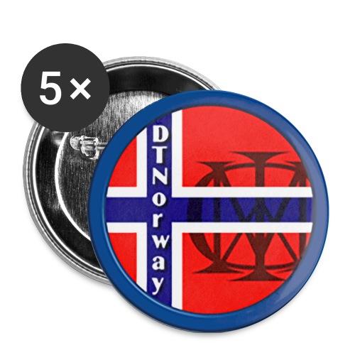 dtnorwaylogo - Liten pin 25 mm (5-er pakke)