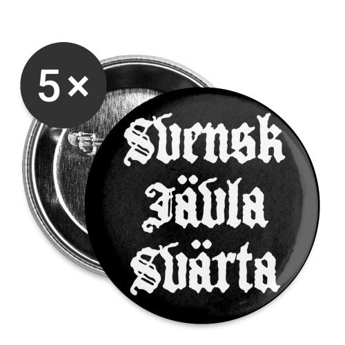 badge sjs png - Buttons small 1''/25 mm (5-pack)