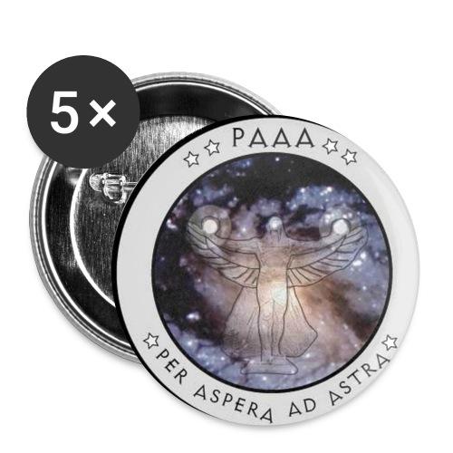 emblemneu2 gross - Buttons klein 25 mm (5er Pack)
