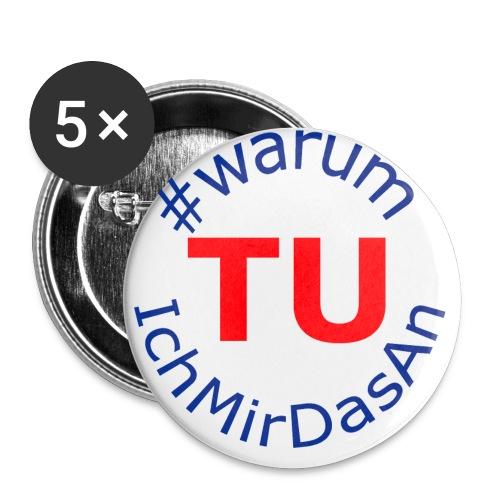 warumTUichmirdasan Circle png - Buttons klein 25 mm (5er Pack)