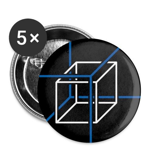 algorithmic discrete mathematics - Buttons small 1''/25 mm (5-pack)