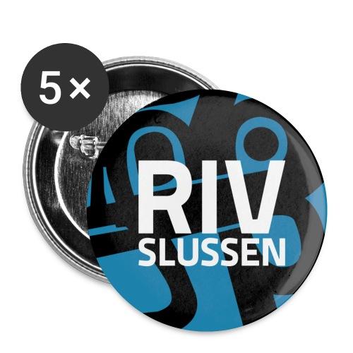rivslussentext tight pin - Små knappar 25 mm (5-pack)