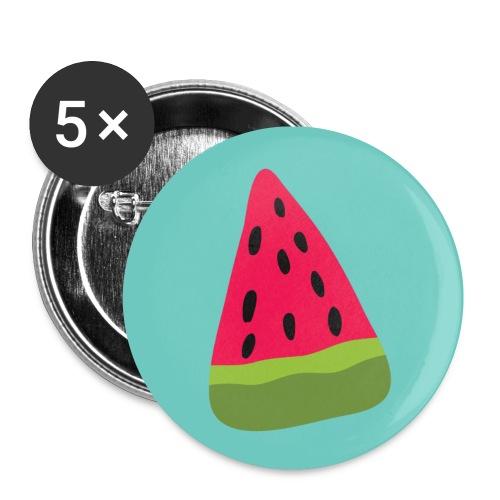 Watermelon - Confezione da 5 spille piccole (25 mm)