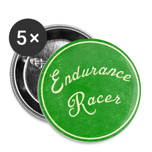 endurance racer stitch - Buttons small 1''/25 mm (5-pack)