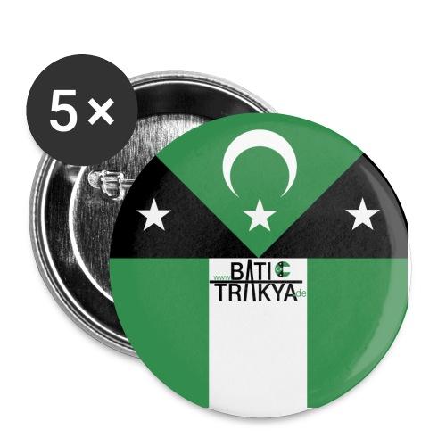 BatiTrakya - Buttons klein 25 mm (5er Pack)