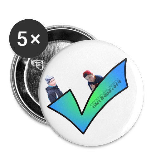The best check - Buttons/Badges lille, 25 mm