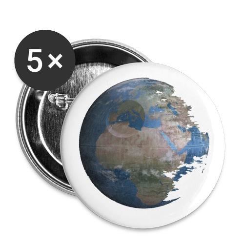 Death Earth - Lot de 5 petits badges (25 mm)