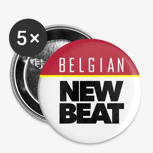 BNB SQ - Buttons klein 25 mm (5-pack)