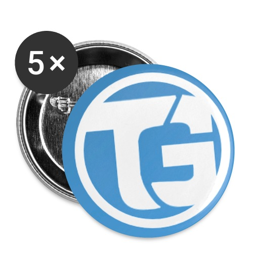 TURBOTRUI - Buttons klein 25 mm (5-pack)
