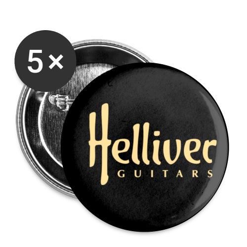 hel button 01 - Buttons klein 25 mm (5er Pack)